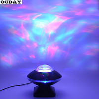 Starry Projector Lamp LED Music Speaker Rotating Flashing Starligh Colorful Projection Lam For Kids Children Baby
