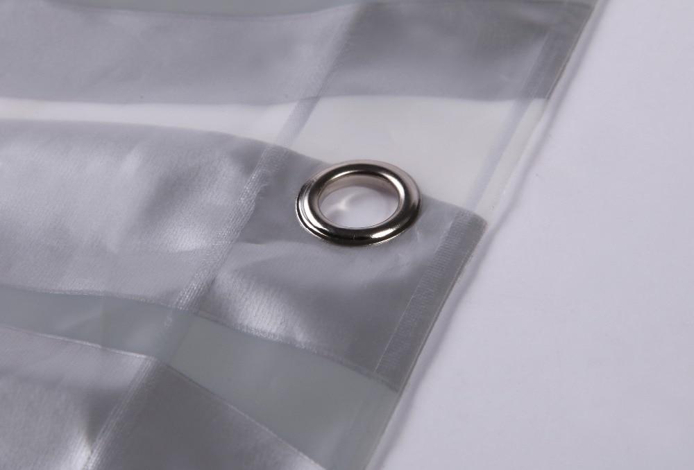 Impermeabile tenda del metallo di colore più spessa bagno mostra