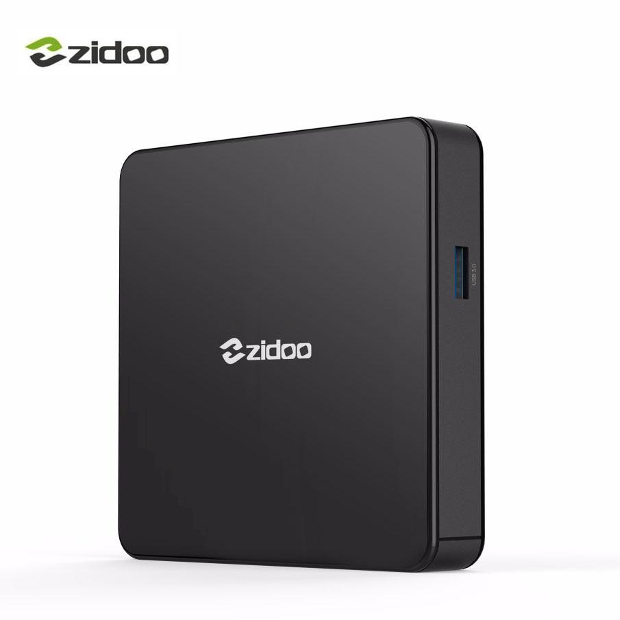 Zidoo X7 Android 7.1 HDR HDMI Smart TV Box Bluetooth4.1 USB 3.0 Per-install Kodi Build F ...