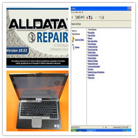 alldata repair newest installed version all data 10.53 and mitchell on demand auto software 1tb hard disk d630 laptop diagnostic