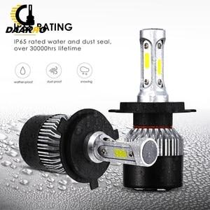 Image 4 - 2PCS Auto Super Bright 3 Sides S2 LED HIR2 36W 12000LM/Set Car led Headlight Automobiles Front Bulb 6500K Car 36W 12000LM