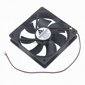 20pieces lot Gdstime DC 12volt 2pin 12025 12cm 12025S 120mm x 25mm Cooling Radiator Fan