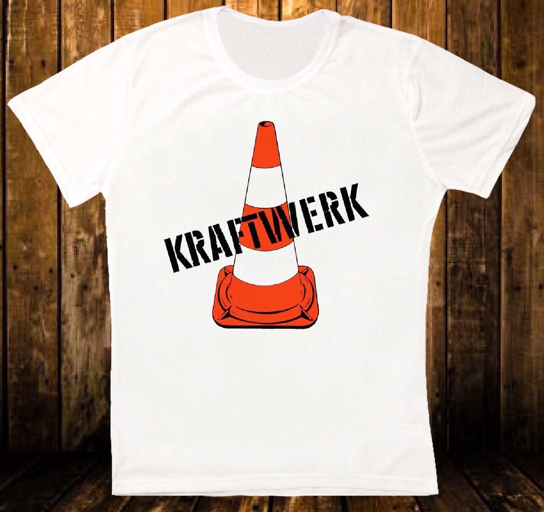 Gildan KRAFTWERK 1970 ERSTE ALBUM KRAUTROCK ELECTRONIC NEU! SYNTHETISCH UNISEX-T-SHIRT