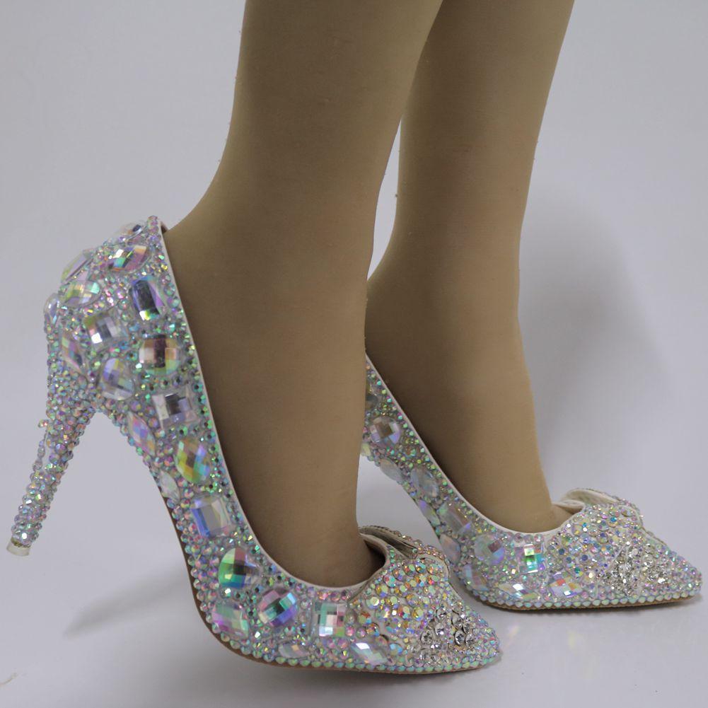 Wies Hand Einzel D09abrbf Bogen Schuhe Große Schuhe Hochzeit schuh dock Frauen Absätzen gebunden Dünnen made Diamant TTrqHZ87