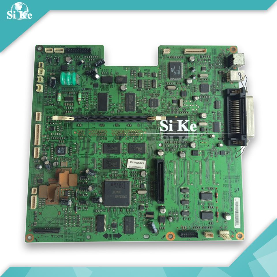 Free shipping Mainboard For Samsung SCX-4720F SCX4720F SCX 4720F 4720 Formatter Board Main board on sale тонер картридж samsung mlt k606s see для scx 8040nd черный 35000стр