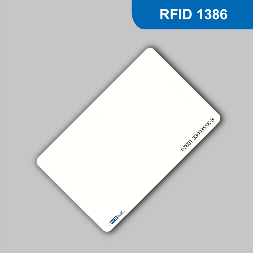 RFID Smart Tag Blank white PVC Card 125KHz 26Bit Format H10301 for access control Free shipping 1000pcs long range rfid plastic seal tag alien h3 used for waste bin management and gas jar management