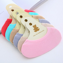 Candy boat socks women thin shallow silicone non-slip summer ladies invisible low help foot