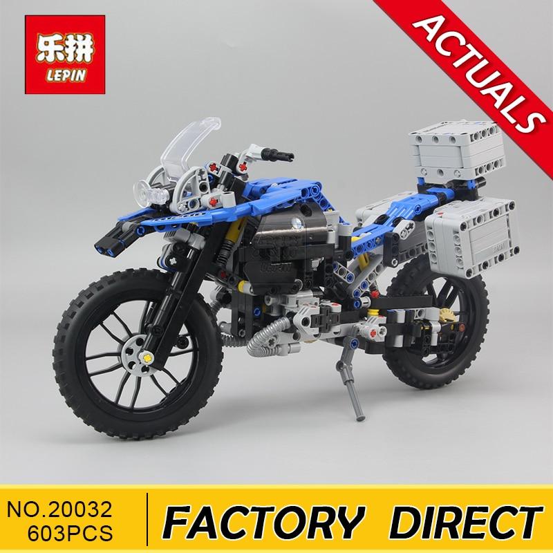 Lepin 20032 Technic Series The BAMW Off-road Motorcycles R1200 GS Building Blocks Bricks Educational Toys for Kid 42063 конструктор lego technic 42063 приключения на bmw r 1200 gs
