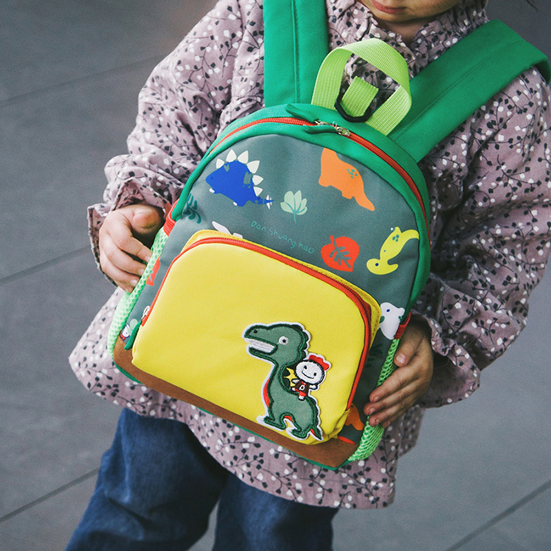 Kids Cute Dinosaur School Backpacks Bag Girls Boys Waterproof Pre School Kindergarten Bookbags