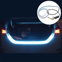 1set 120cm RGB Undercarriage Floating LED Warning Lights Luggage Compartment Lights Led Dynamic Streamer Turn Signal