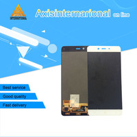 Axisinternational LCD Screen Display Touch Panel Digitizer For Oneplus X E1001 White Black Free Shipping