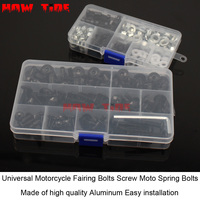 Universal Motorcycle Fairing Bolts Screw Moto Spring Bolts For HONDA CB1000R CBR300R X ADV PCX150 ST1300PA CB400 CBF600 CBF650