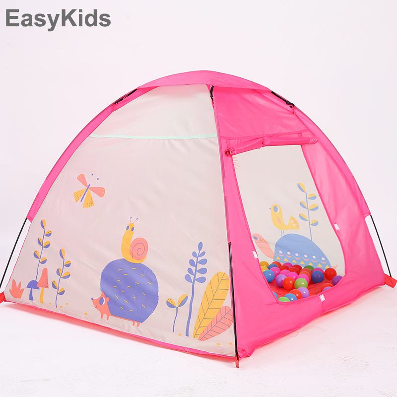 Kids toy tent Foldable Portable Cartoon Snail Pink Girl Princess Castle Indoor Outdoor Play Tent Baby Playhouse Playing Toy tent  sc 1 st  AliExpress.com & Kids toy tent Foldable Portable Cartoon Snail Pink Girl Princess ...