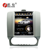 HANGXIAN Vertical 10.4 Quadcore Android 4.4 Car Radio For Ford Focus 2005 2011 Car DVD player with 1G RAM 32G ROM