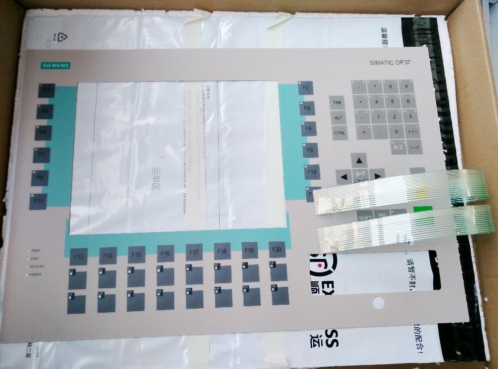 OP37 6AV3637-1LL00-0AX1 6AV3 637-1LL00-0AX1  Compatible Keypad Membrane for Siemens keypad replacement op7 6av3 607 1jc20 0ax1 button mask