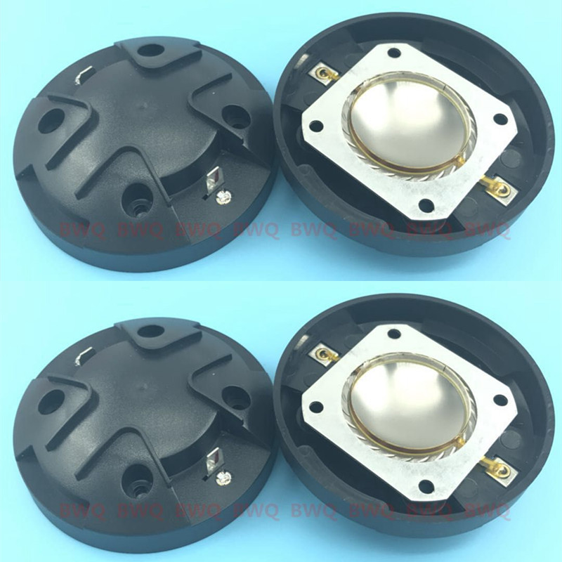 4pcs Lot replacement Diaphragm for Electro Voice EV DH1K Driver ELX 112 115 215 F01U247593 Aluminium