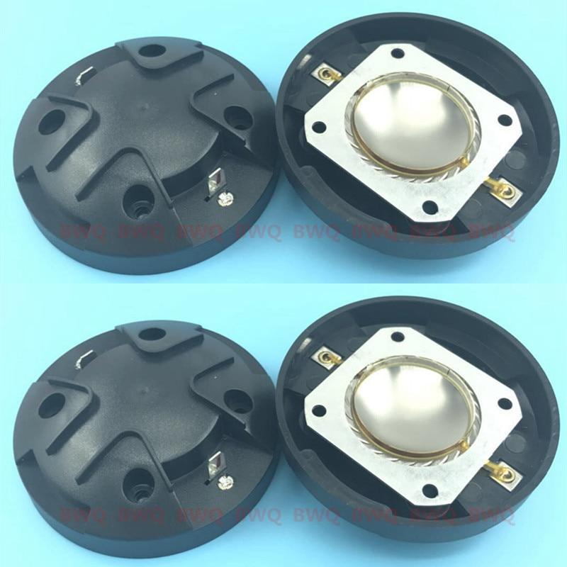 4 pcs/Lot membrane de remplacement pour Electro Voice EV DH1K Driver ELX 112 115 215 F01U247593 fil plat en Aluminium VC 36mm 8 Ohm-in Accessoires enceintes from Electronique    1