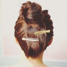 fashion Korean Fashion Girls Gold Silver Color Cute Small Comb Shape Hair Clip Duckbill Hairpin For Women Accessories Gift
