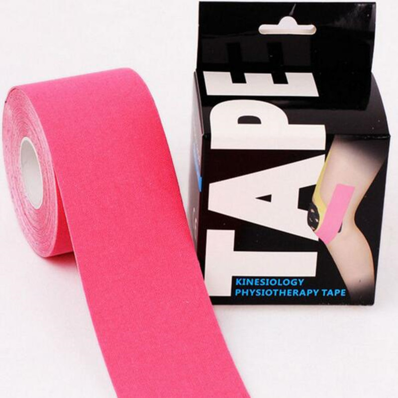 5M X 5CM Kinesiology Tape With Individual Color Box Therapy Kinesiology Muscle Tape Water Proof Kinesiology Tex Tape