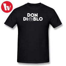 Don Diablo T Shirt Print Shirts 100 Percent Cotton T-Shirt Male Summer Casual T-Shirts Printed Music Tee Plus Size 5XL