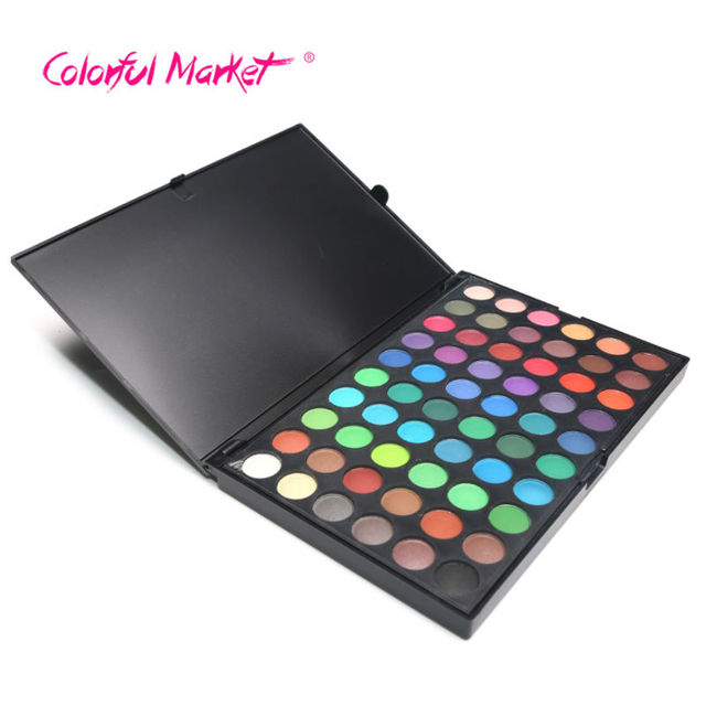 2017 Hot Sale High Quality Colorful Beauty Pigmento Chocolate Makeup Eyeshadow For Women 120 Colors