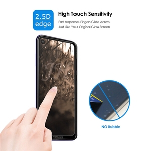 Image 4 - 2Pcs Full cover Tempered Glass for Motorola Moto One Action Screen Protector 9H Protective Glass for Moto One Action Film
