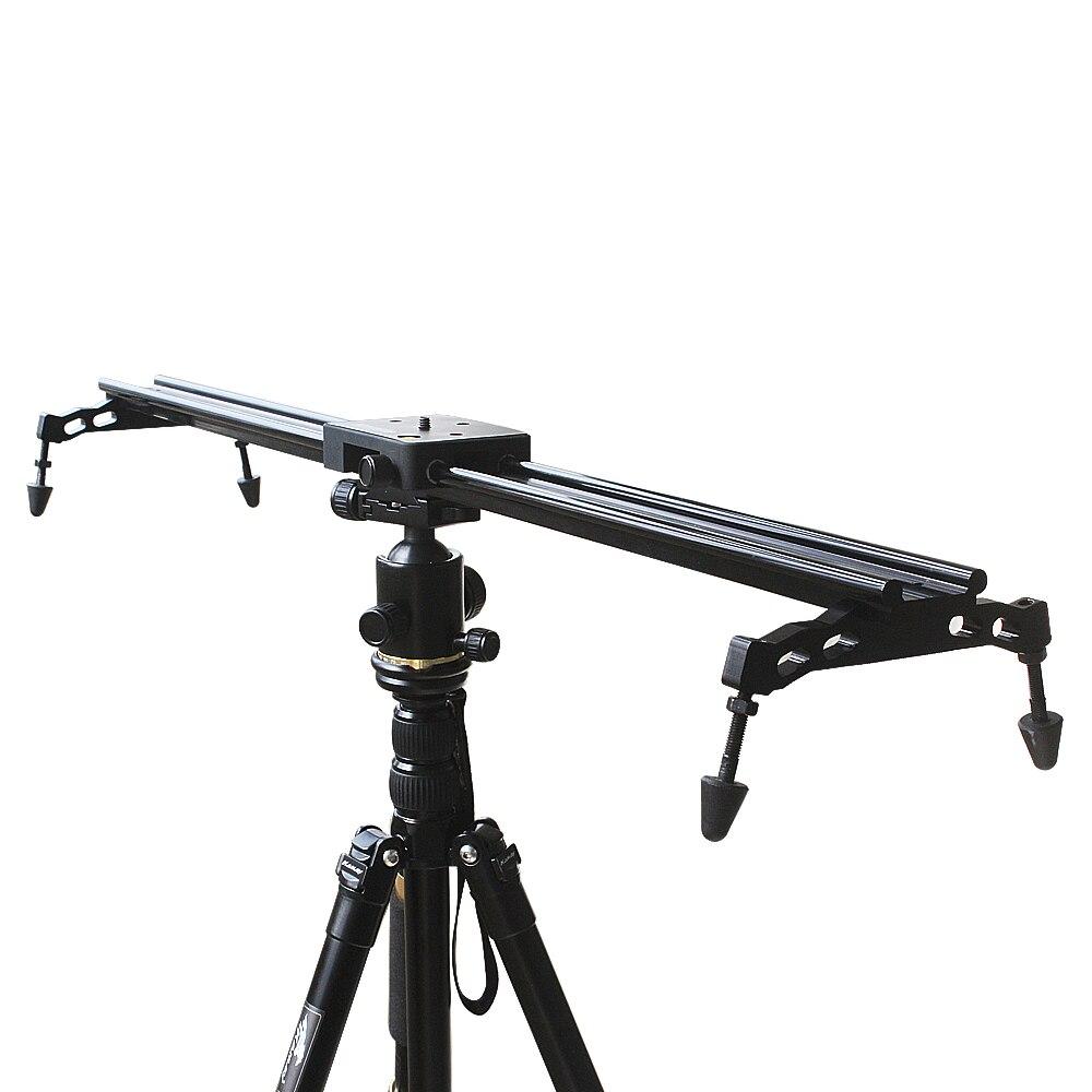 Commlite système de stabilisateur vidéo à glissière coulissante pour caméscopes DSLR 60 cm 24