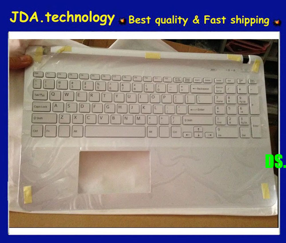 Upper Cover Palmrest with US Keyboard for SONY Vaio FIT15 SVF152 SVF153 SVF1521
