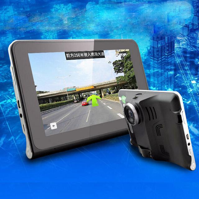 7 pulgadas de ALTA DEFINICIÓN de 16 GB de Navegación GPS portátil Coche vehículo GPS 1296x1081 P (Navegación/test de velocidad/grabadora de conducción/entretenimiento)