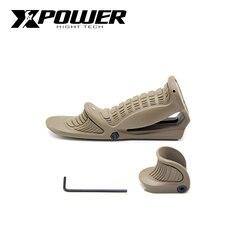 XPOWER Griff Grip Für Taktische Paintball Gel Blaster Airsoft AEG Jagd Zubehör J9 Getriebe