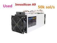 Используется Innosilicon A9 ZMaster 50 k sol/s Equihash Asic шахтер Zcash ZCL ZEC BTG горные машины лучше чем Antminer Z9 Z9 мини