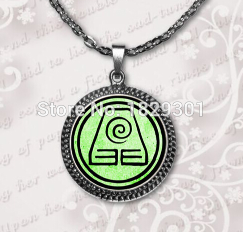Hot Sale Avatar The Last Airbender Two Choice Jewelry Earth