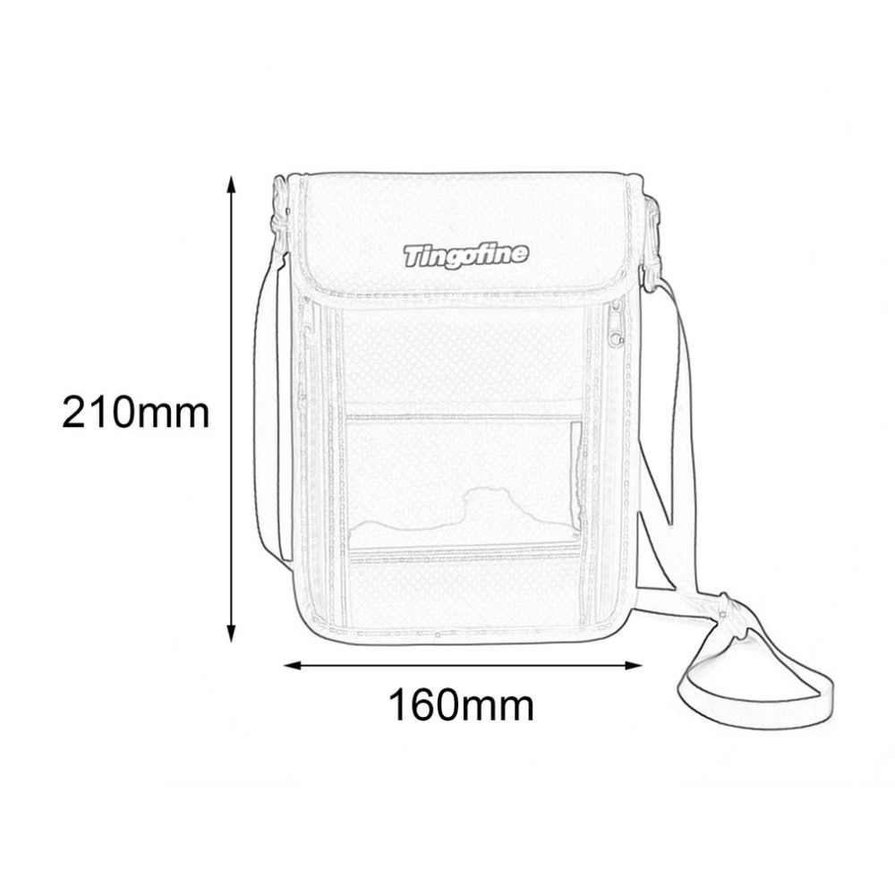 Открытый RFID Противоугонный безопасный Кошелек шеи сумка дорожный ремень сумка на плечо для мобильного телефона паспорт молния сумка держатель для карт