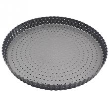 mini Hole Hollow out BBQ Kitchen Baking Tray Carbon Steel round Pizza Pan Bakeware High Temperature Resistance