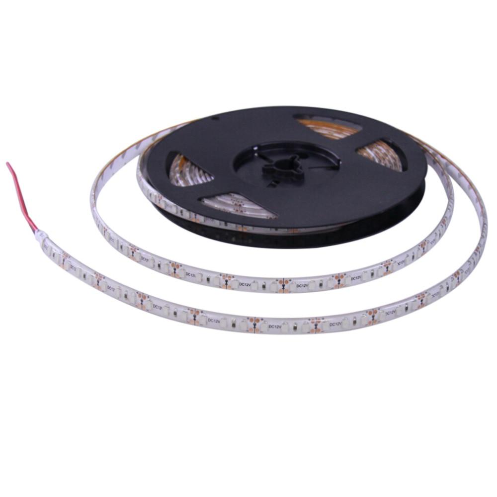 Водонепроницаемый супер яркий 5 м 3528 SMD 600 светодиодный гибкие полосы света 12 В