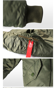 Image 3 - 2 12 yesars Children Clothes 2018 Winter Jackets For Boys Coat Kids Warm Ma 1 Bomber Flight Outerwear Coat Baby Jacket Clothing