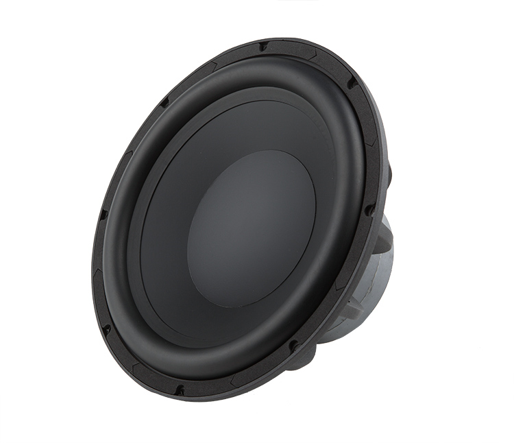 Fonderie FW300C cône circulaire en aluminium 12 pouces haut-parleur HIFI basse/haut-parleur amplificateur de voix basse en aluminium 4 ohms 86.4 dB