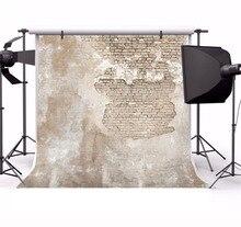 Laeacco Shabby brique mur décors Grunge Portrait vinyle photographie arrière plans anniversaire Photophone pour Studio Photo Photocall