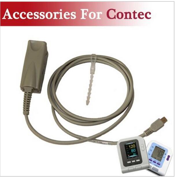 Adult Probe For Contec NIBP Blood Pressure Monitor SPO2 Test, Contec08A Contec08C infant spo2 probe for contec brand digital blood pressure monitor bp moniter contec08a 08c