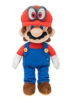 New Little Buddy 1693 Super Mario Odyssey Mario with Removable Cappy 13 Plush Doll Toy