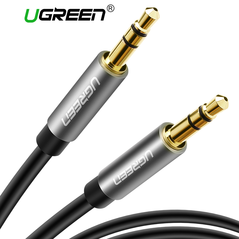 Ugreen AUX Cable for Car iPhone Male to Male Stereo Audio Cable 3.5 jack to jack 3.5 AUX Car Cable for Headphone Beats Speaker vention male to male aux cable 3 5mm for car