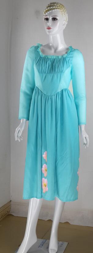 2016 Normal Cinderella Dress Cinderella Movie Dress, Cinderella Cosplay Costume Cinderella Daily Dress Current Stock