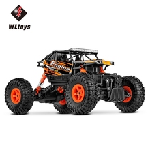 1:18 Scale RC Car 2.4G 4WD RC Off-road Car Crawler Toy High Speed 100m Control Distance WLtoys 18428 – B Children Games Toys