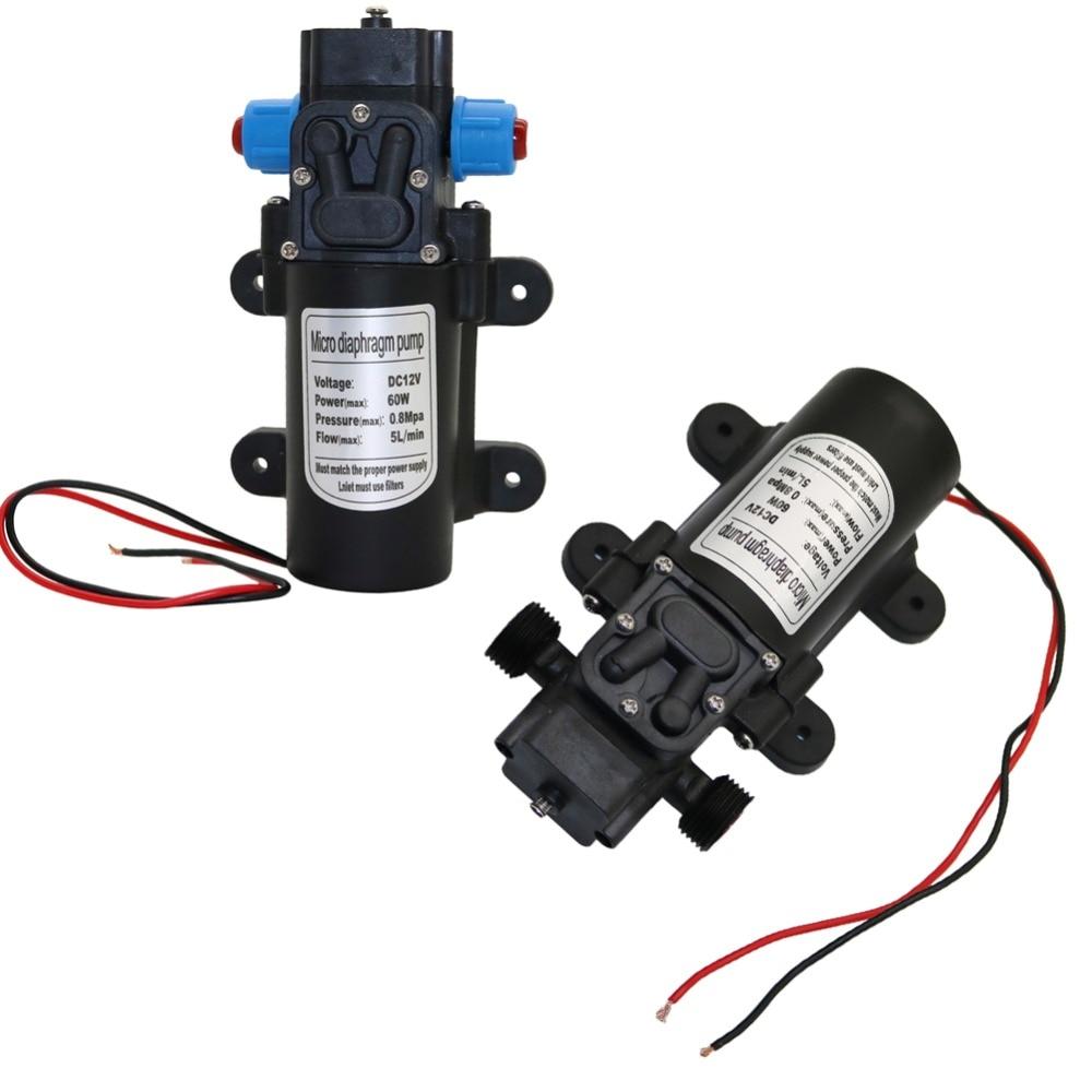 Garden Irrigation Pump Interface High-Pressure Self-Priming-Booster Micro Thread 12V