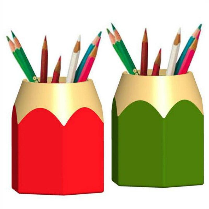 Popular Creative Pen Vase Pencil Pot Makeup Brush Holder
