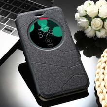 Sleep Flip Mobile Phone Case For Asus Zenfone 3 Zenfone3 Laser Deluxe ZE552KL ZS550KL ZS570KL ZC551KL Cover PU Housing