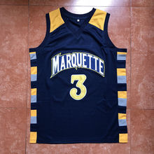 the latest 0dde9 f427e WaterMonkey 2019 3 Dwyane Wade Marquette Golden Eagles College Basketball  Jersey. US  22.75   piece Free Shipping