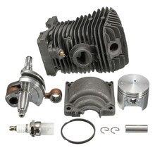 2016 NEW Engine Motor Cylinder Piston Crankshaft Chainsaw For Stihl 023 025 MS230 MS250