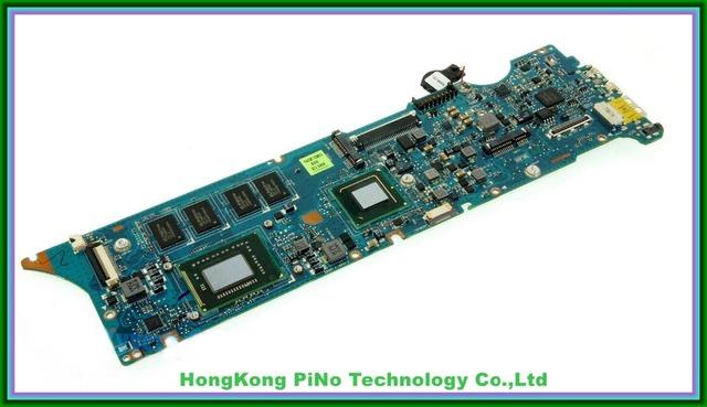 Frete grátis ux31e placa de sistema para asus ux31e laptop motherboard w/i5-2467 2.3 ghz cpu w/4 gb ram 60-n8nmb4g01 testado bom