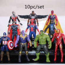 6b2b82555d80 Avengers 3 Infinity War Spiderman Thanos Hulk Iron Man Captain America Ant  Man Thor Loki Robot